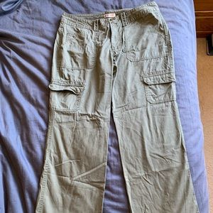 Faded Glory khaki cargo pants 16P